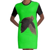 Aguila Graphic T-Shirt Dress
