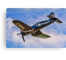 Chance Vought F4U-4 Corsair 96995 OE-EAS Canvas Print