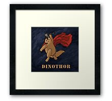 Dinothor Framed Print