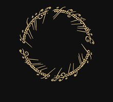 LOTR-Ring Inscription Unisex T-Shirt