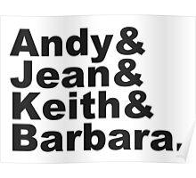 Warhol & Haring & Kruger & Basquiat - Beatles Poster