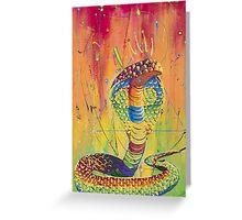 The Universal King Cobra Greeting Card