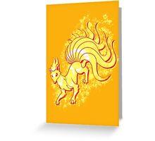 Kitsuninetales Greeting Card
