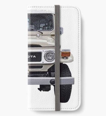 Toyota FJ-40  iPhone Wallet/Case/Skin