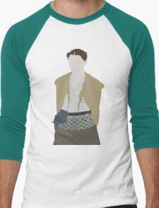 Not Dressed like a Lady Men's Baseball ¾ T-Shirt