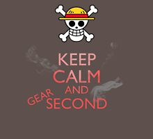 Keep Calm and Gear Second Unisex T-Shirt