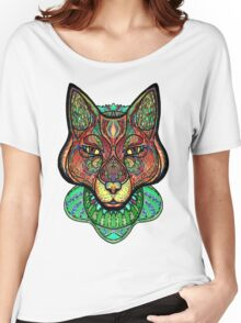 Psychedelic fox Women's Relaxed Fit T-Shirt