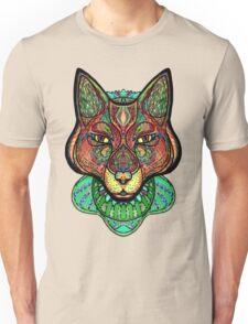 Psychedelic fox Unisex T-Shirt