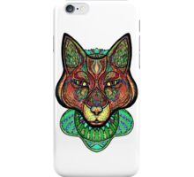 Psychedelic fox iPhone Case/Skin