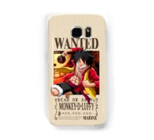 Monkey D. Luffy wanted. 400 mil New world Samsung Galaxy Case/Skin