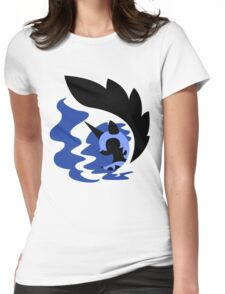 Emblem of Harmony - Nightmare Moon Womens Fitted T-Shirt