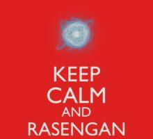Keep Calm and Rasengan b Kids Clothes