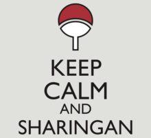 Keep Calm and Sharingan 1a by Dan C