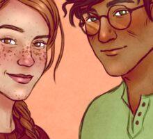 Ginny and Harry Sticker