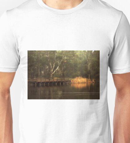 The Viewing Bridge, Kennington Resevoir By Lorraine McCarthy Unisex T-Shirt