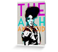 The ArchAndroid - Janelle Monáe Greeting Card