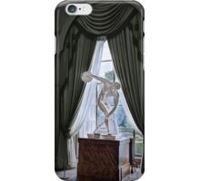 Towneley Hall-Sculpture(Male) iPhone Case/Skin