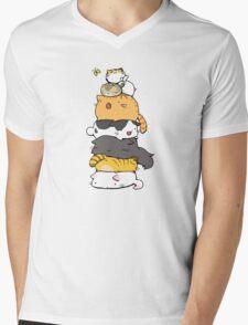 Cute cats Mens V-Neck T-Shirt