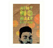 Ain't No Half Steppin - Big Daddy Kane Art Print