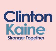 Clinton Kaine Baby Tee