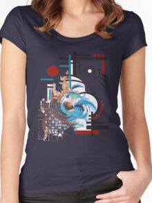 New wave - New Life Women's Fitted Scoop T-Shirt