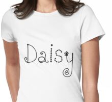 Daisy Name Womens Fitted T-Shirt