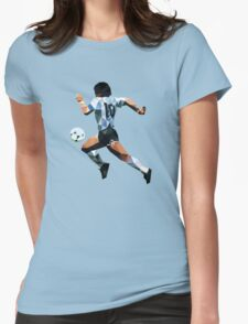 El d10s vector Womens Fitted T-Shirt