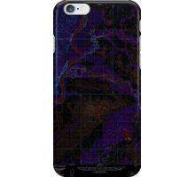 USGS TOPO Map Alaska AK Sleetmute D-1 359266 1954 63360 Inverted iPhone Case/Skin