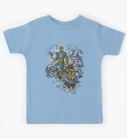 Calvin: The Spiffy Spaceman Kids Tee