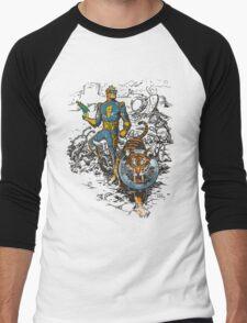 Calvin: The Spiffy Spaceman Men's Baseball ¾ T-Shirt