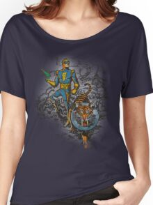 Calvin: The Spiffy Spaceman Women's Relaxed Fit T-Shirt