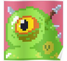 Pixel Monster - Oooze Poster