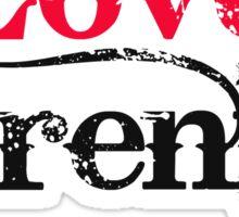 I Love Serenity Sticker