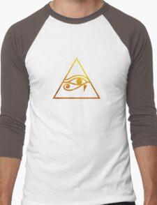 Eye of Horus  Men's Baseball ¾ T-Shirt