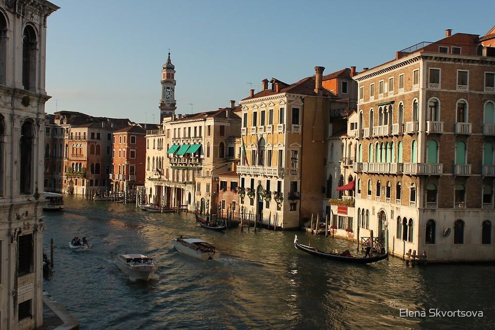 Venice in golden hour by Elena Skvortsova