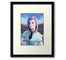 Portrait of Trisha Framed Print