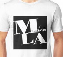 Musica L.A. black logo Unisex T-Shirt