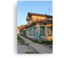Old rural house Canvas Print