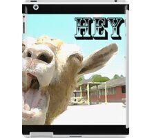 Goat Saying Hey! iPad Case/Skin