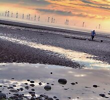 Wind farm and Winklepicker by ShiggyClicks
