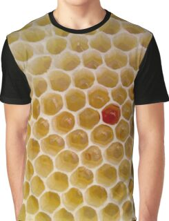 Honeycomb - Bee - Honey Graphic T-Shirt