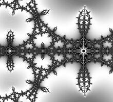 False Mandelbrot Byways No. 14 by Mark Eggleston