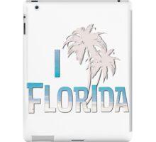 I Love Florida - Palm Tree iPad Case/Skin