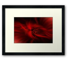 Passion Concept Framed Print