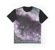 Amethyst Geode Graphic T-Shirt
