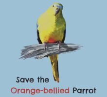 Orange-bellied Parrot products (light background colours) by OBparrot
