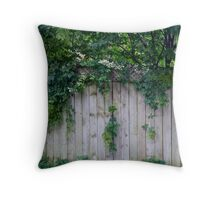 The Green Can Never Be Blocked Throw Pillow