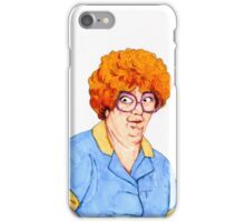 Sandy Friday the 13th Waitress iPhone Case/Skin