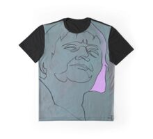squigglehead with pink hair - drawing Graphic T-Shirt