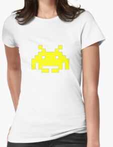 Retro Video Game - Space Invaders Womens Fitted T-Shirt